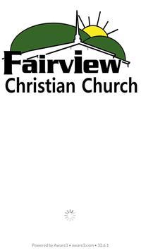 Fairview Christian Church poster