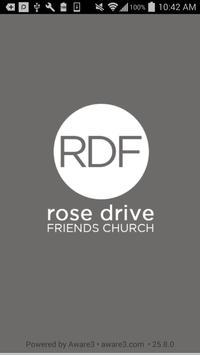 Rose Drive Friends Church App poster