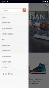 AIR JORDAN SHOP screenshot 5