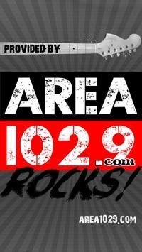 AREA 102.9 Albuquerque poster