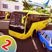 Bus Simulator 2020:Airport Heavy Bus Driving-2 icône
