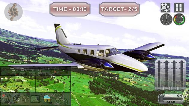 Airport Pilot Flight Simulator captura de pantalla 2