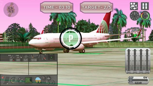 Airport Pilot Flight Simulator captura de pantalla 5