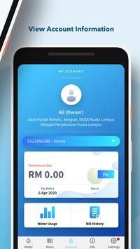 Air Selangor syot layar 2