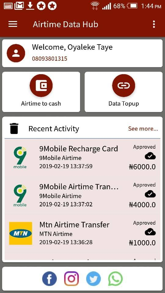 Airtime Data Hub for Android - APK Download