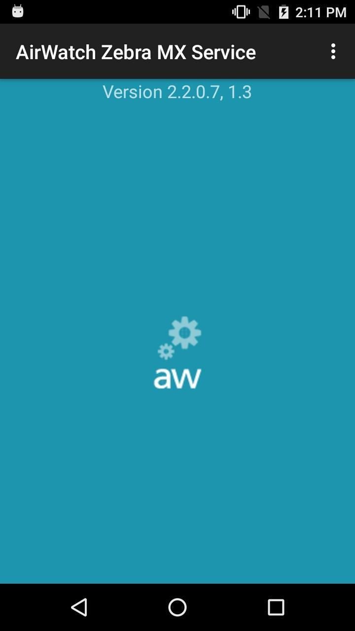 AirWatch Zebra MX Service for Android - APK Download