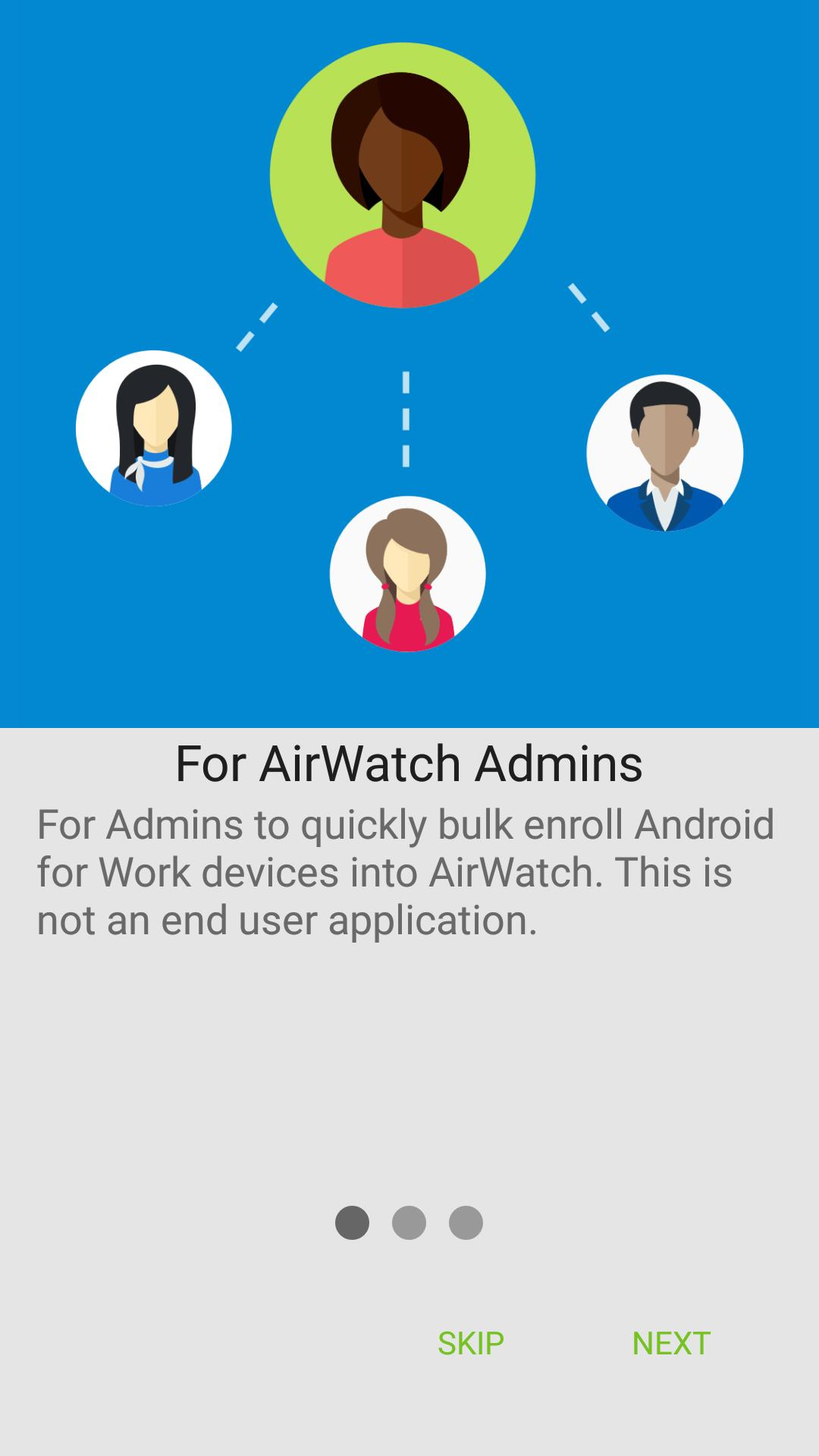 AirWatch Relay poster
