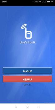Blues Tronik - isi pulsa dan PPOB online poster