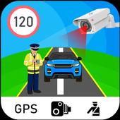 SpeedCam Detector Radar– Traffic & Route Navigator icon