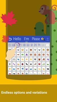 ai.Twitter Emoji Keyboard スクリーンショット 1