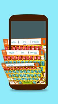 ai.keyboard Comic Book theme screenshot 2