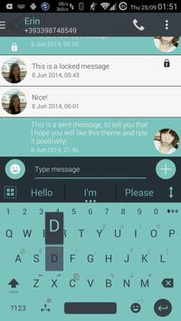 Theme for A.I.type Droid Inv א screenshot 1