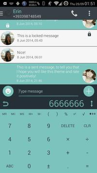 Theme for A.I.type Droid Inv א screenshot 4