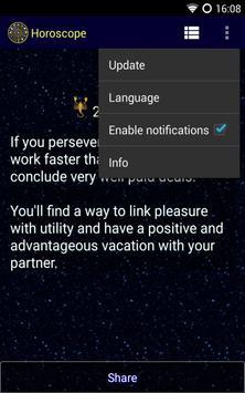 Horoscope screenshot 1