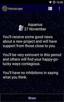 Horoscope screenshot 2