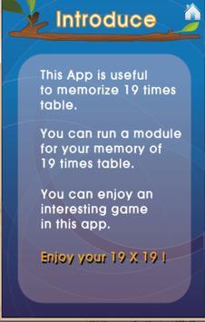 Play 19 TimesTable (Free) screenshot 2