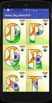 INDIAN FLAG LETTER screenshot 1
