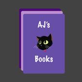 AJ's Books - Angular icon