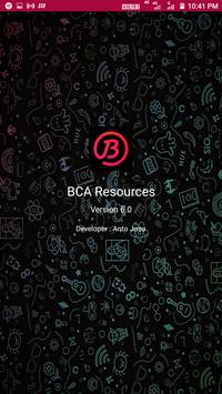 BCA Resources poster