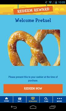 Wetzel's Pretzels screenshot 1
