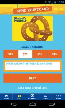 Wetzel's Pretzels screenshot 2