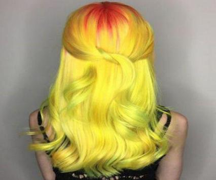 Girl Hair Color Model 2019 poster