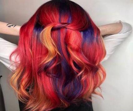 Girl Hair Color Model 2019 screenshot 1