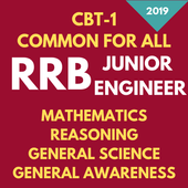 RRB JE CBT-1 Complete Preparation All Subjects icon