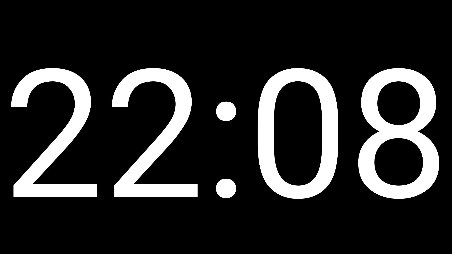 Big Clock Full Screen for Android - APK Download