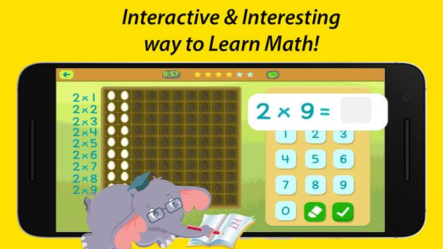 Maths Games Class 1-5 – Building Blocks by Akshara screenshot 1