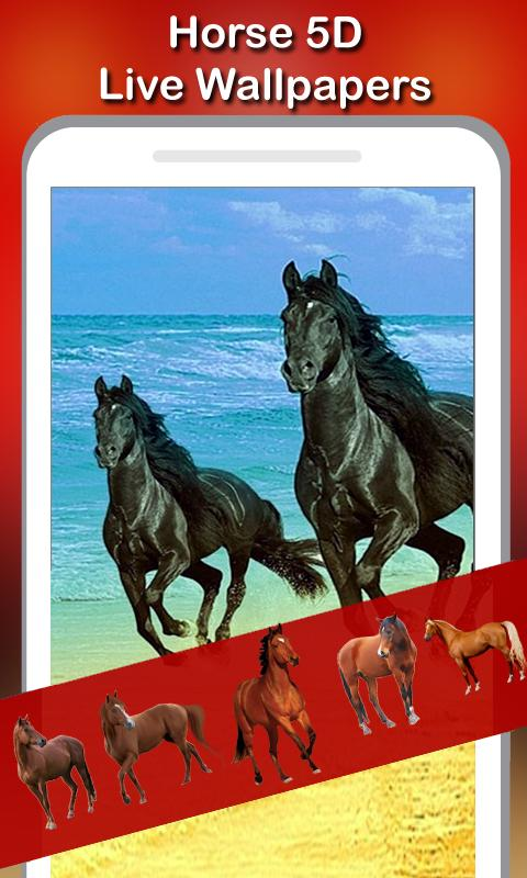 5d Horses Live Wallpaper For Android Apk Download