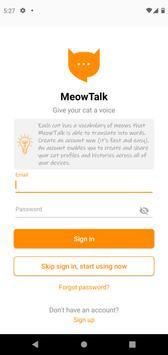 MeowTalk Beta poster