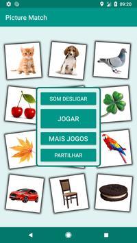 Brain game. Picture Match. Cartaz