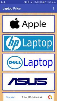 Laptop Price poster