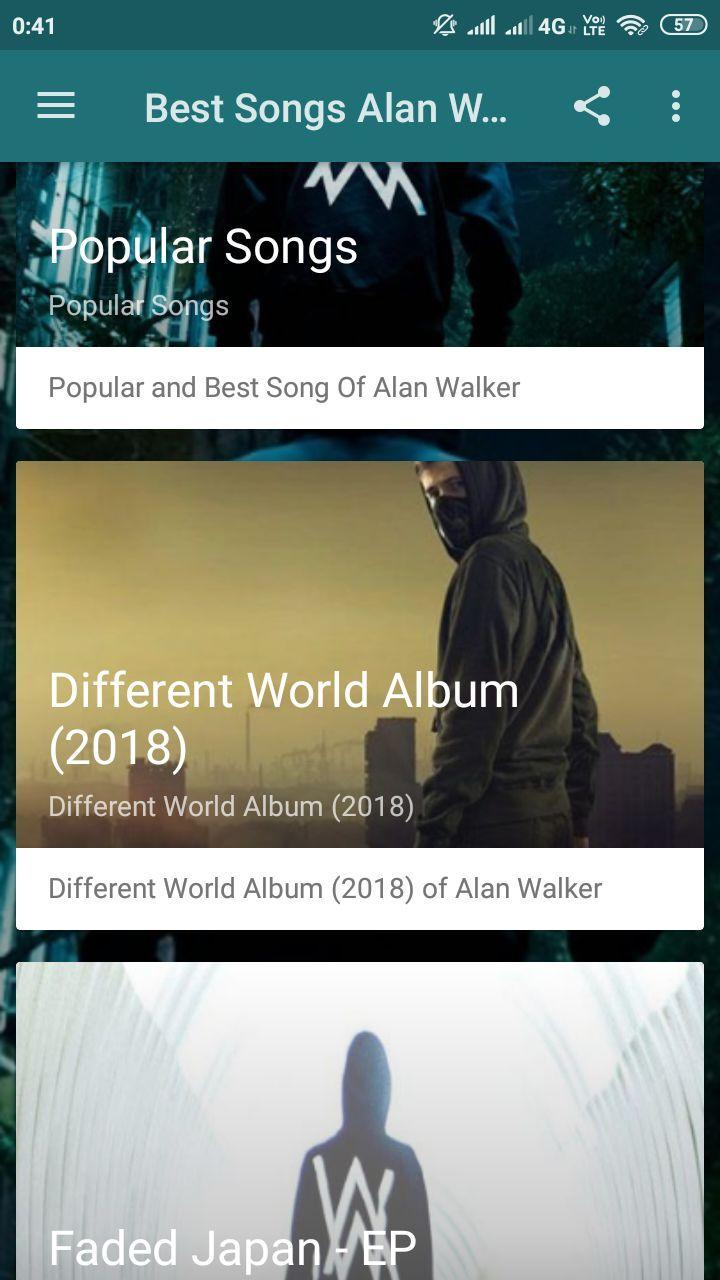 Alan Walker : Best & Popular Songs for Android - APK Download