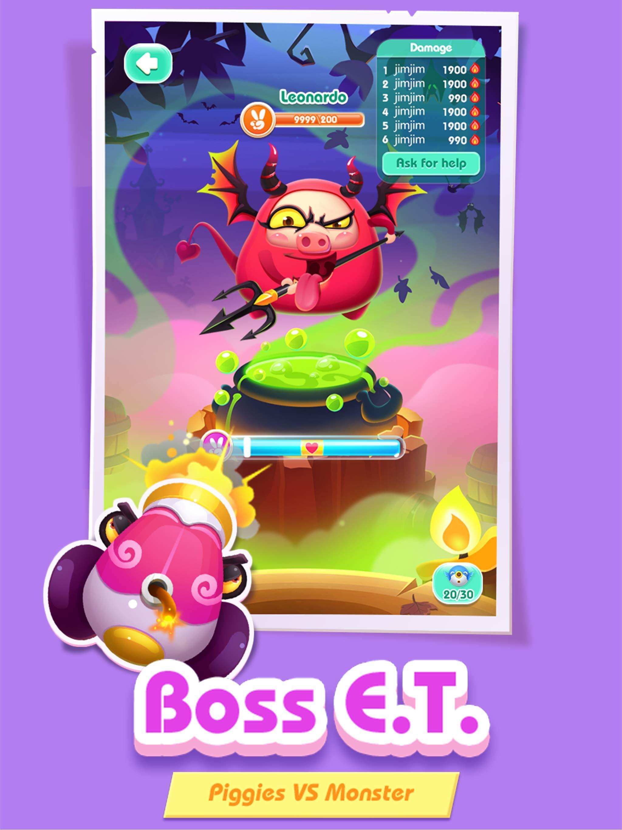 Cari permainan terbaru Piggy Boom