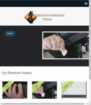 Lezioni di chitarra video screenshot 11