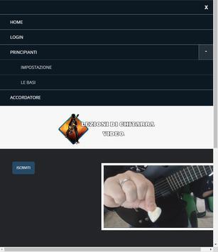 Lezioni di chitarra video screenshot 12
