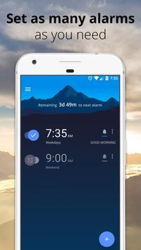アラーム クロック:目覚まし時計、ストップウォッチ、タイマー 無料 スクリーンショット 3