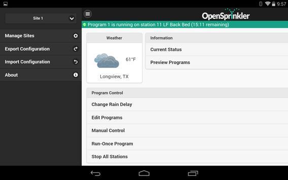 OpenSprinkler स्क्रीनशॉट 10