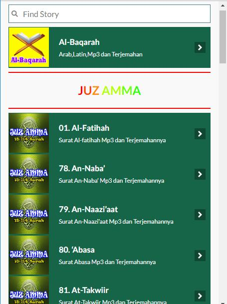 Surat Al Baqarah Dan Juz Amma For Android Apk Download