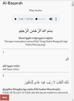 Surat Al Baqarah dan Juz Amma screenshot 1