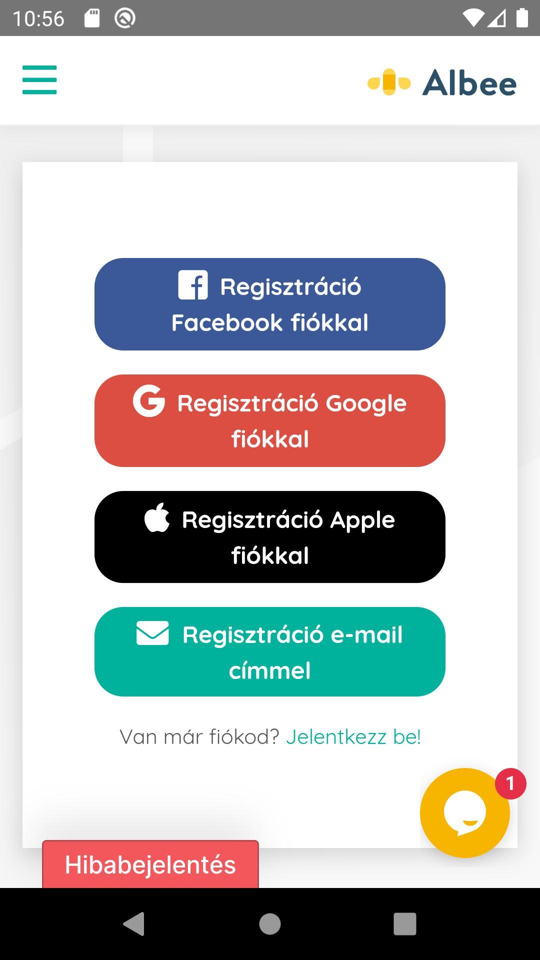 Regisztráció | Zömotiver.hu