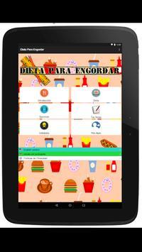 Dieta Para Engordar, Dieta Para Subir de Peso captura de pantalla 8