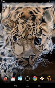 Magic Touch: Leopard Live Wallpaper screenshot 1