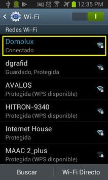 DomoLux & Domotics/Ilumination screenshot 1