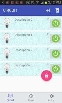DomoLux & Domotics/Ilumination screenshot 2