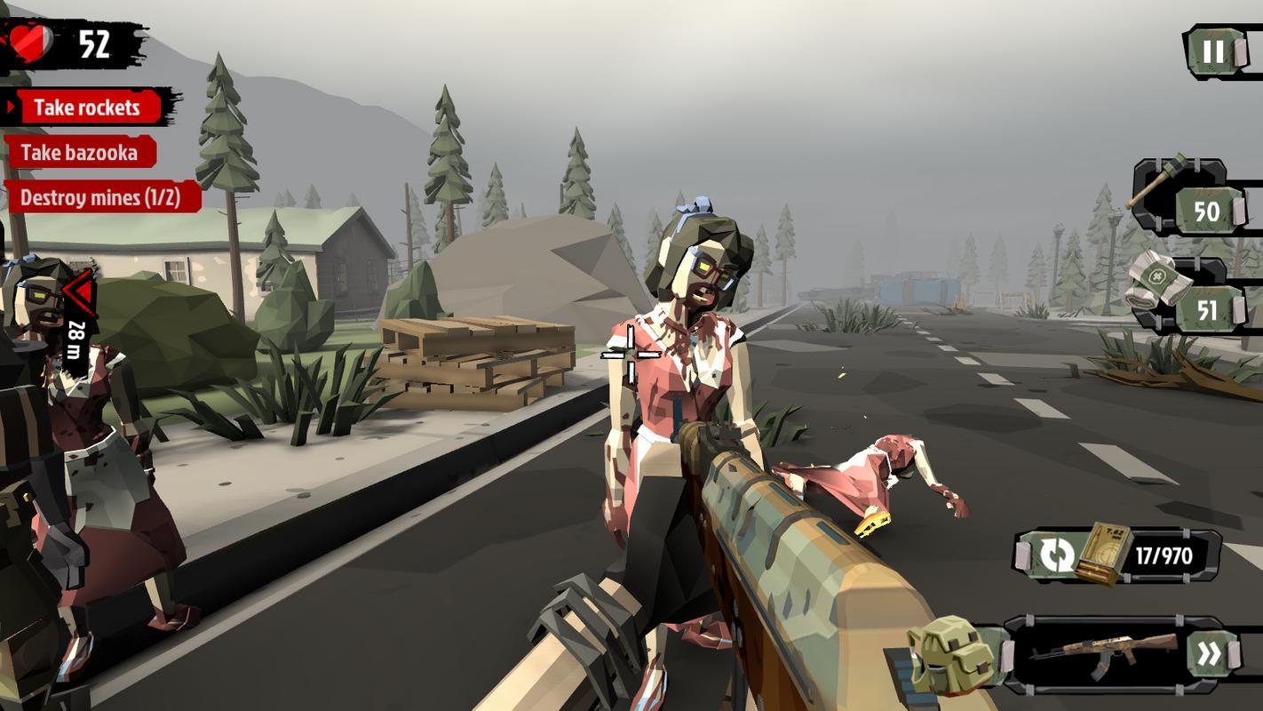 The Walking Zombie 2hack version