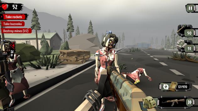 2 Schermata The Walking Zombie 2