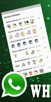 Sticker Islamic Muslim for WhatzApp screenshot 2